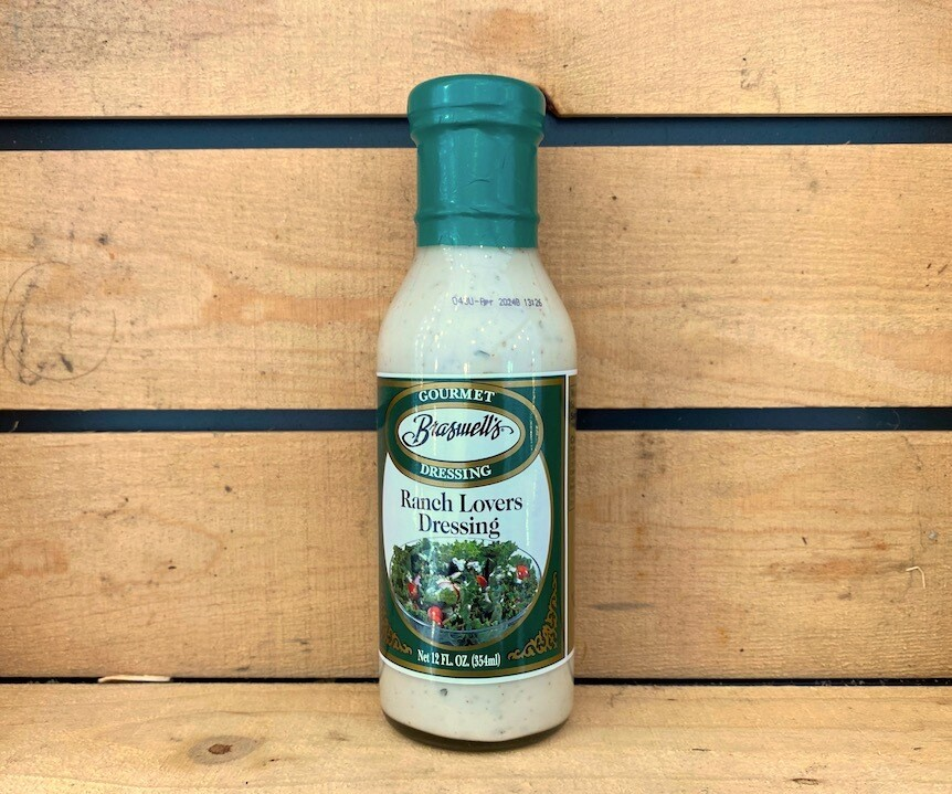 Super Deal! Braswell's of Georgia Ranch Lover's Dressing 12 oz.