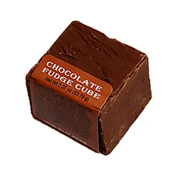 Spokandy Chocolate FUDGE Cube 2.25 oz.