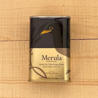 SALE! Merula Spain Extra Virgin Olive Oil, ORGANIC 6.15 fl oz.