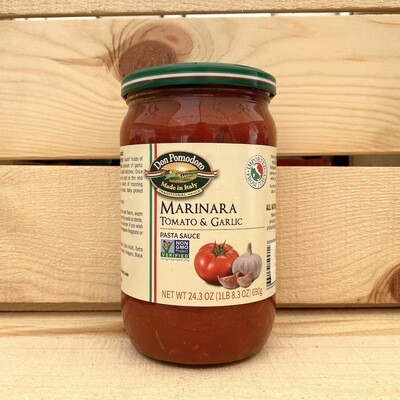 Don Pomodoro Marinara Pasta Sauce w Garlic 24.3 oz.