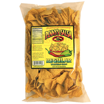 Penny's Tortilla Chips, Yellow Corn 14 oz. bag