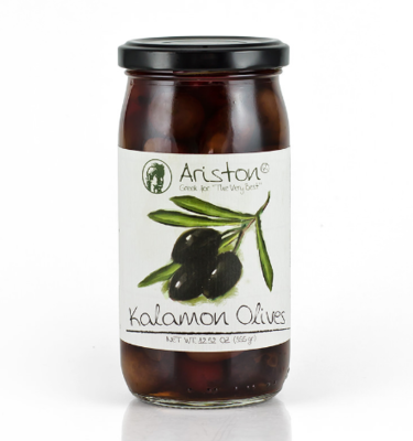 Ariston Greece Kalamon Olives 12.67 oz.