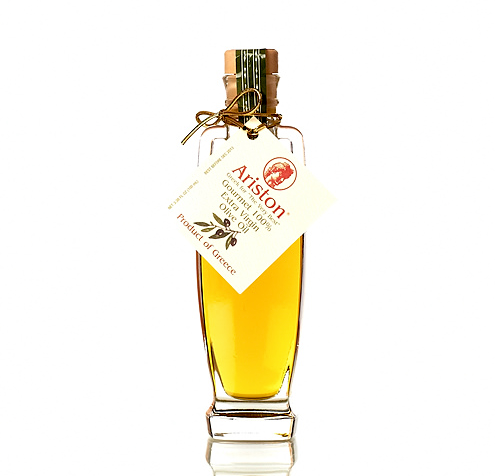 Exclusive! Ariston Greece Extra Virgin Olive Oil, MINI 3.38 fl oz.