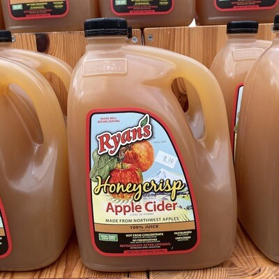 Ryan's Honeycrisp Blend Apple Cider 1 gallon