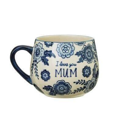 Blue Willow Mum Mug