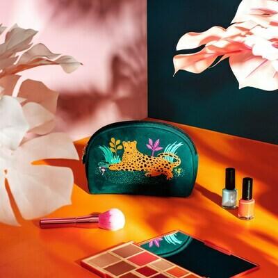 Leopard Love Cosmetic Bag