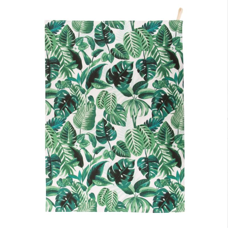 Botanical Jungle Tea Towel