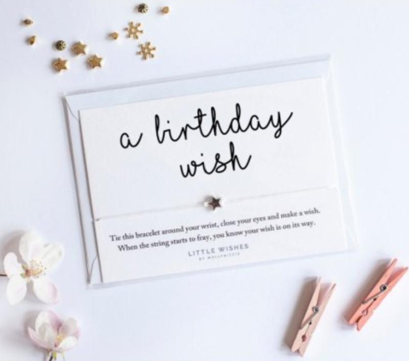 Little Wishes Birthday Bracelet