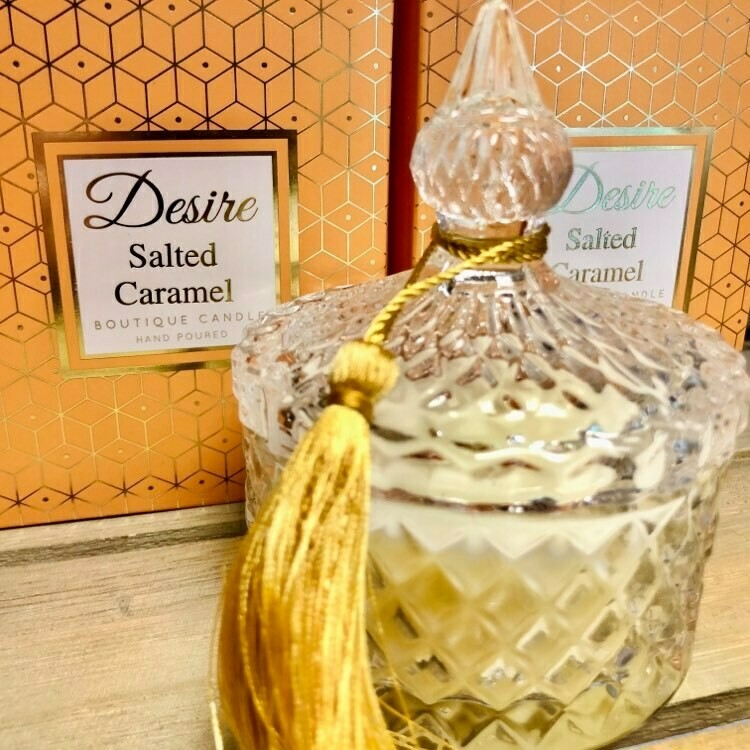 Salted Caramel Luxury Candle Jar (Small)
