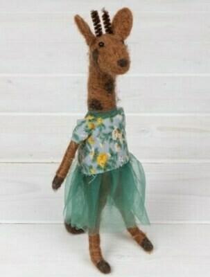 Felt Giraffe