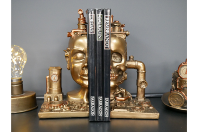 Steampunk Book Ends