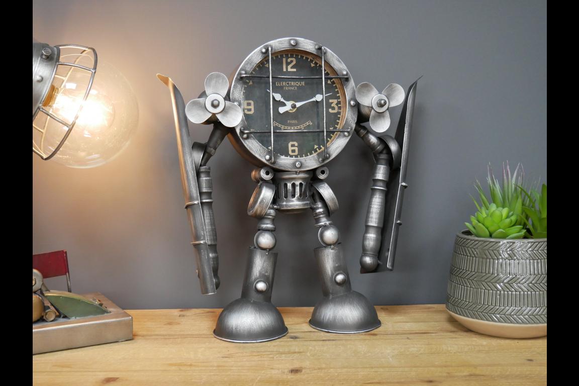 Robot Plane Clock