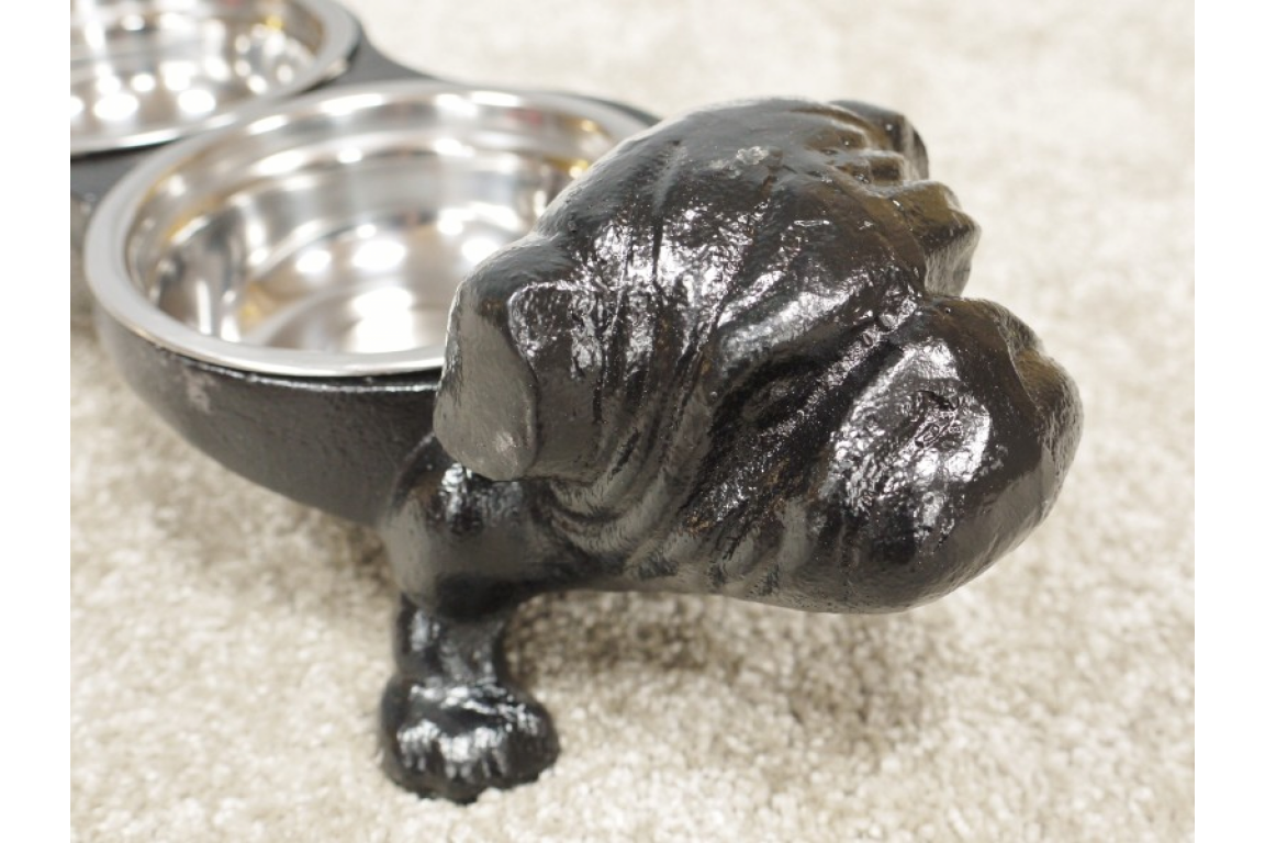 Cast Iron Bulldog Dish