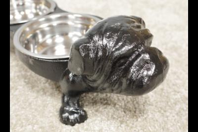 Cast Iron Bulldog Dish
