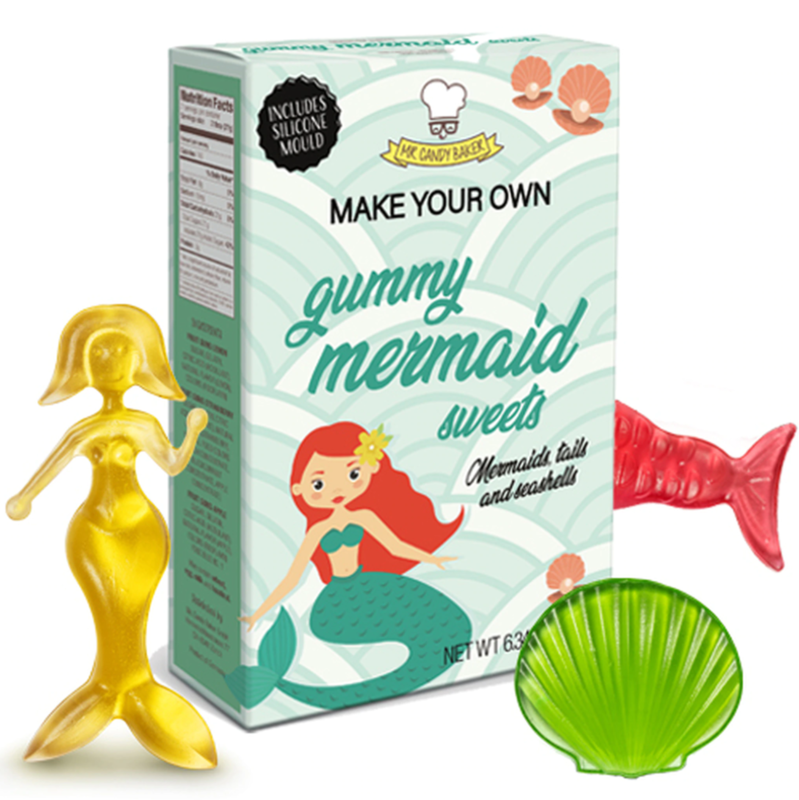 Mr Candy Baker Make Your Own Mermaid Gummy Candy Kit