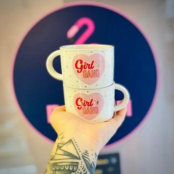 Girl Gang Stacking Mugs