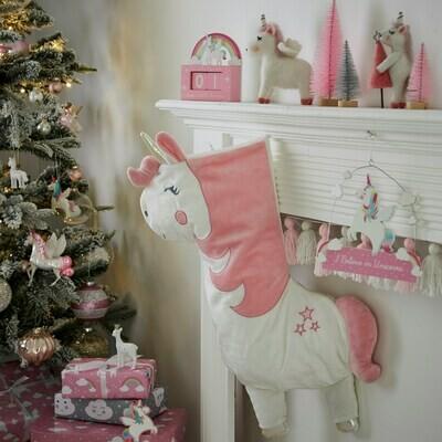 Betty The Rainbow Unicorn Christmas Stocking