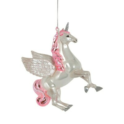 Flying Unicorn Bauble
