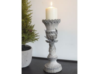 Nordic Rustic Stag Candle Holder (M)