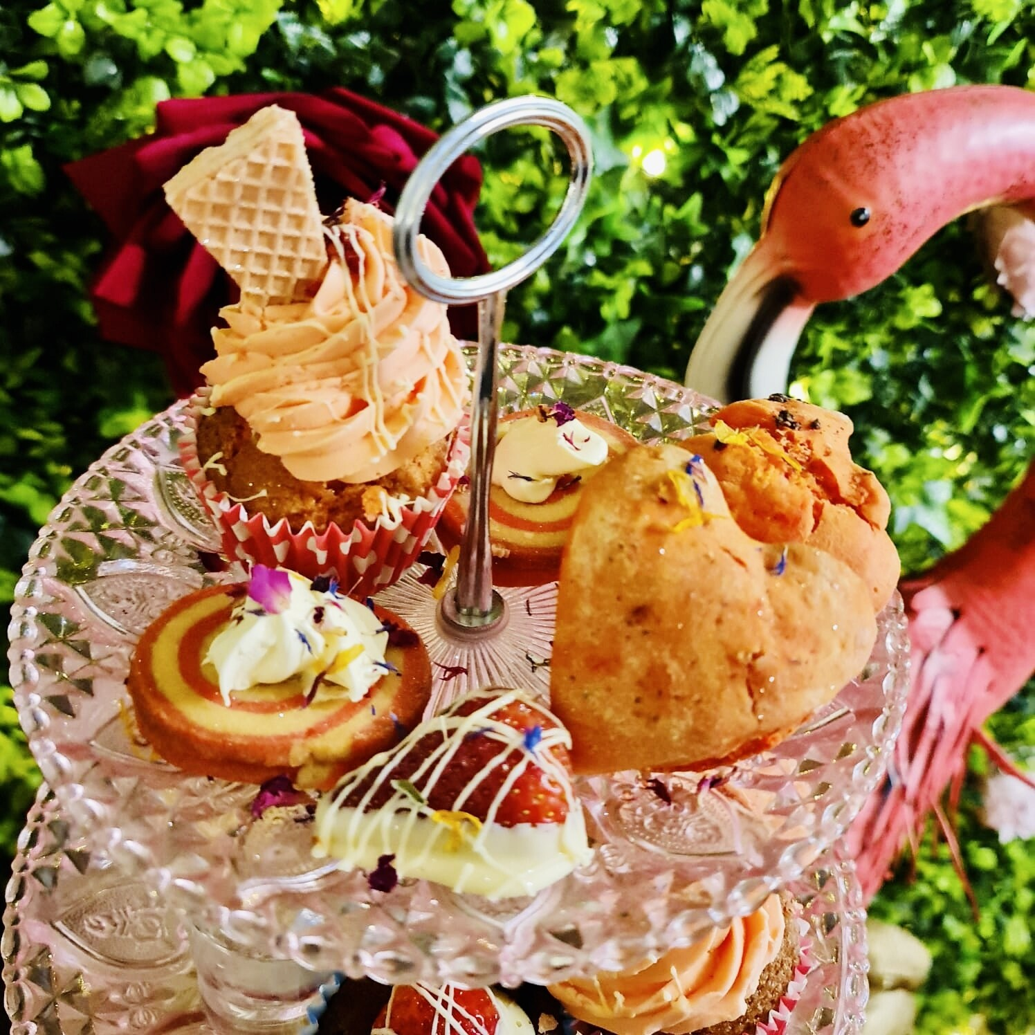 Valentine's Afternoon Tea for Two with Stand