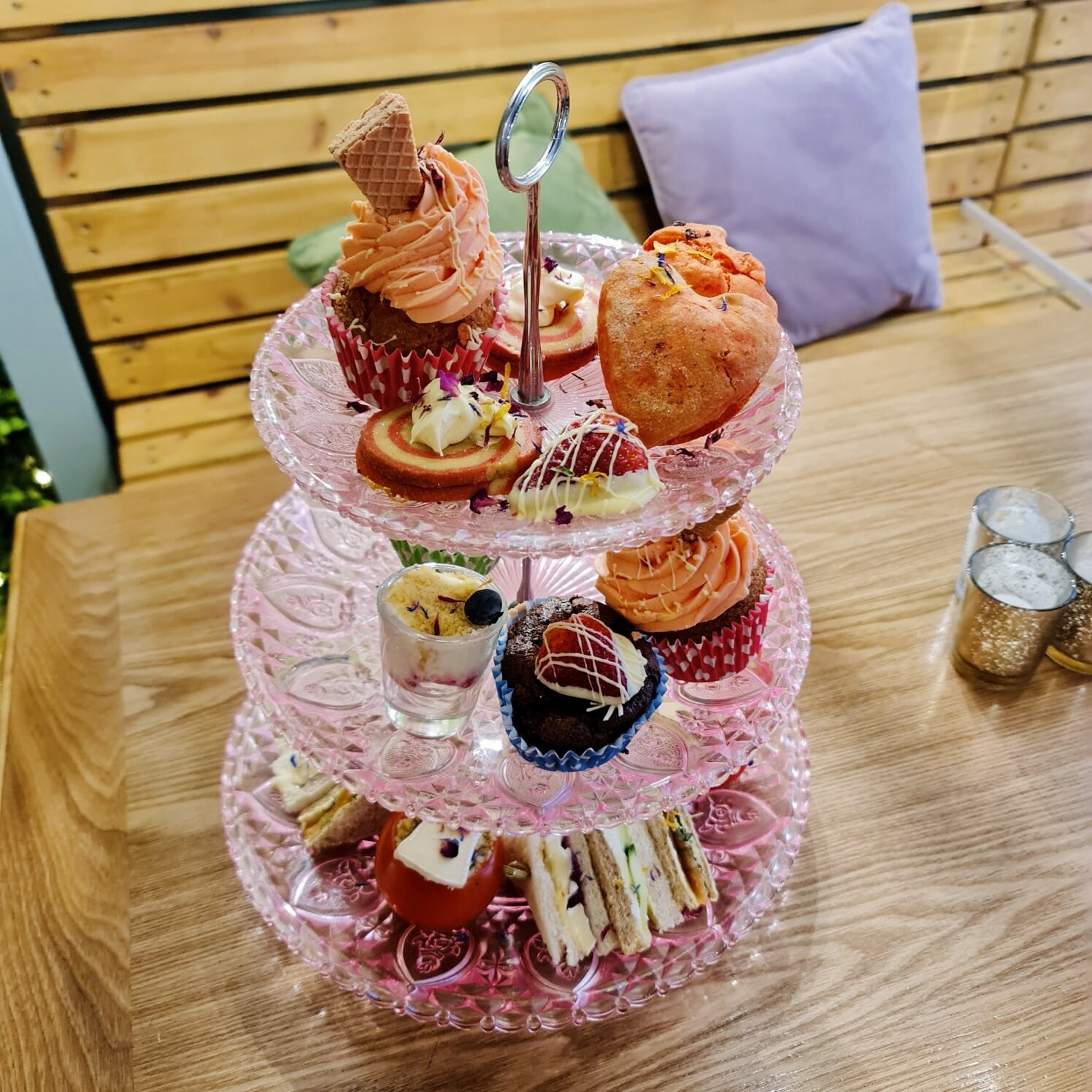 Boxed Valentine's Afternoon Tea (per person)