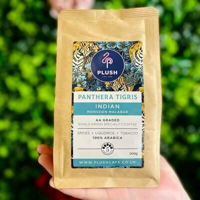 Panthera Tigris - Indian Monsoon Malabar Coffee 200g