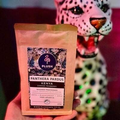 Panthera Pardus - Kenya Zawadi Peaberry Coffee 200g