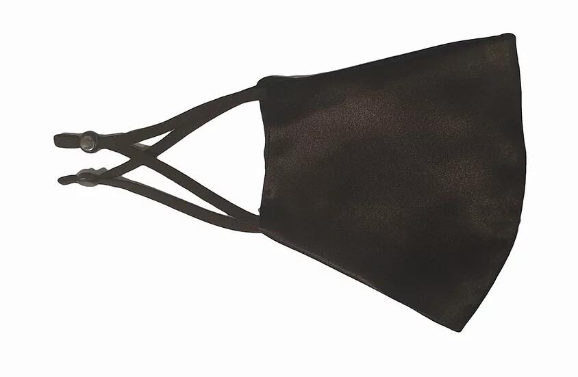 100% Pure Silk Mask zwart
