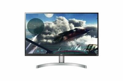 LG 27UK600-W 27 Inch 4K UHD IPS LED Monitor with HDR 10 - LG27UK-0