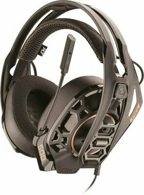Plantronics - RIG 500 PRO HX Wired Dolby Atmos Gaming Headset for Xbox One - Black- PT500W-0