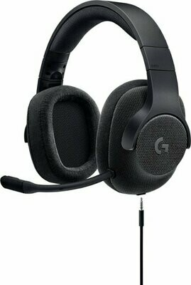 Logitech - G433 Wired 7.1 Gaming Headset for PC, Mac, Nintendo Switch, PS4, Xbox One - Black - LGG4WB-0