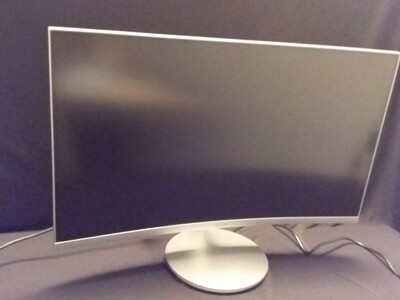 Samsung - CF591 Series C27F591FDN 27 LED Curved - Silver - SM27CF-2