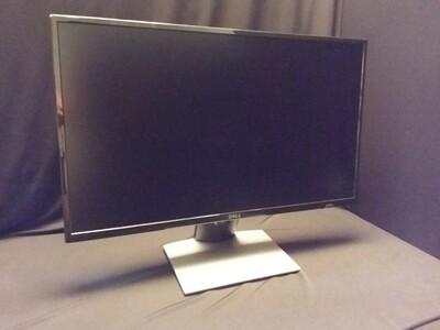 "Dell - SE2717HR 27"" IPS LED FHD FreeSync Monitor - Piano black"