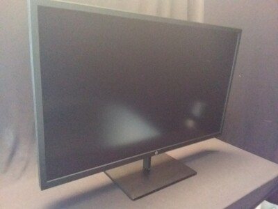 """HP - Pavilion 32"""" LED QHD Monitor - Black - HPPV32-0"""