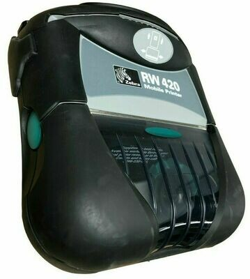 Zebra RW 420 RW420 R4D-0UBA010N-00 Mobile Thermal 4