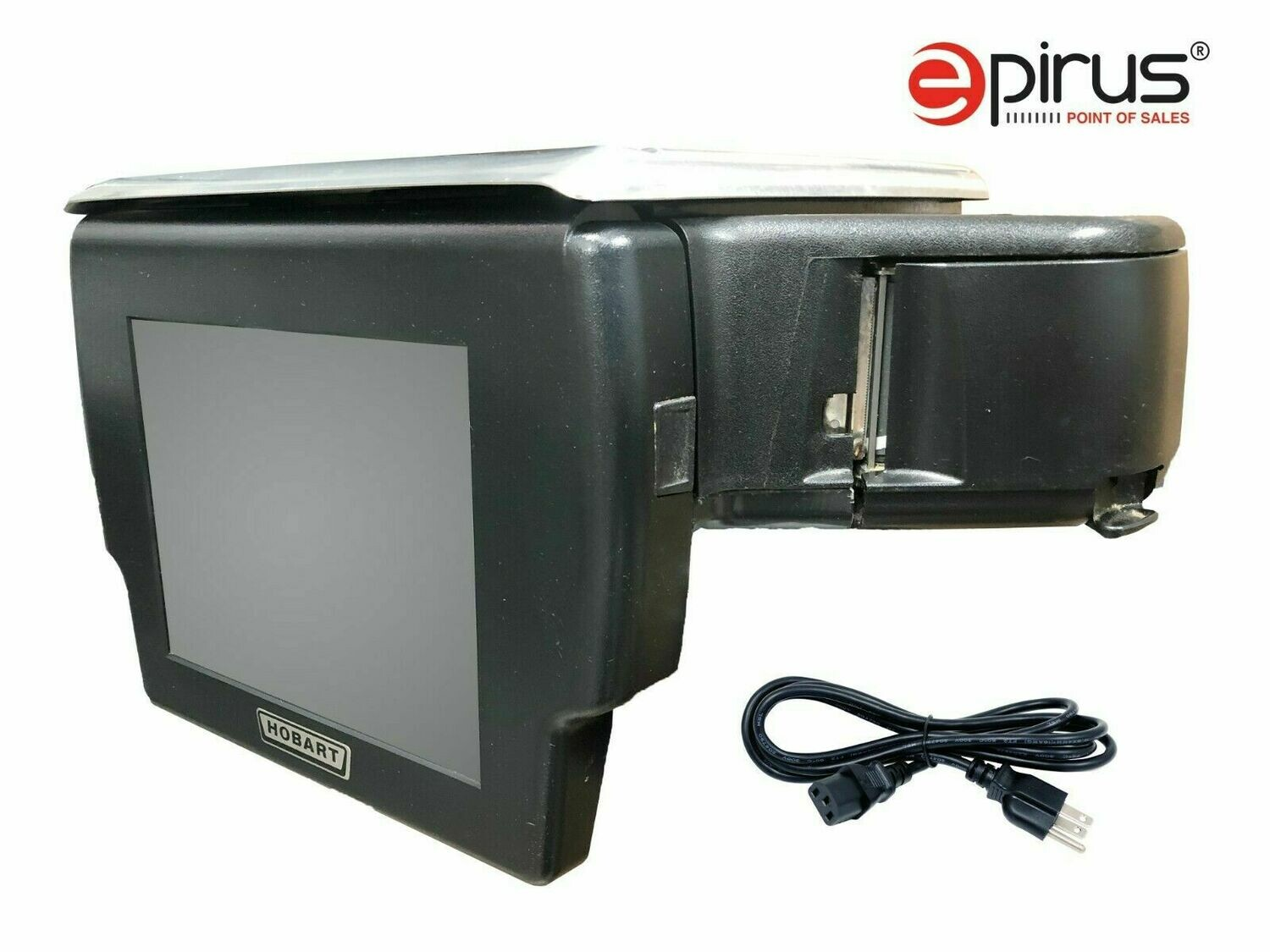 Deli Grocery Scale with Printer, Cleaned Tested Touch Screen 029289-JR Hobart (Grade A Refurb)