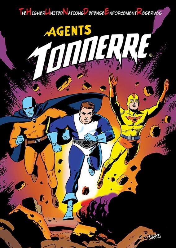 LES AGENTS TONNERRE TOME 5