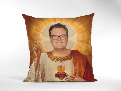 ALAN CARR CUSHION