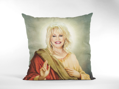 DOLLY PARTON CUSHION