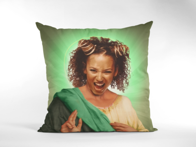 SCARY SPICE (MEL B) CUSHION