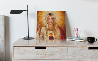 BRITNEY SPEARS CANVAS