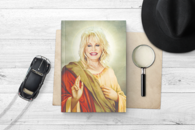 DOLLY PARTON NOTEBOOK