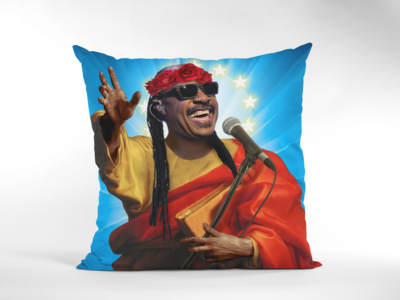 STEVIE WONDER CUSHION