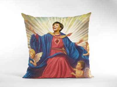 SHIRLEY BASSEY CUSHION