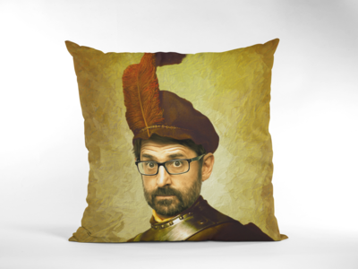 LOUIS THEROUX (RENAISSANCE) CUSHION