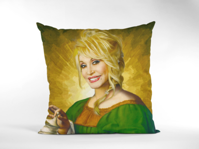 DOLLY PARTON (RENAISSANCE) CUSHION