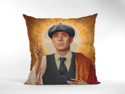 THOMAS SHELBY (PEAKY BLINDERS) CUSHION