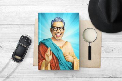 JEFF GOLDBLUM NOTEBOOK