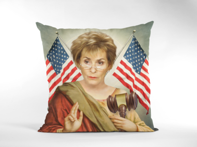 JUDGE JUDY CUSHION