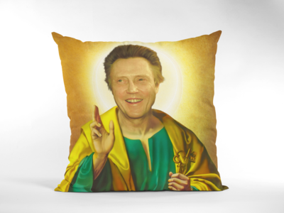 CHRISTOPHER WALKEN CUSHION